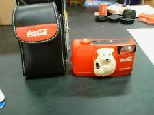 Coca-Cola Camera red with bear on front WITH case! 1999