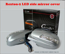 LED Light Side Mirror Cover (1 way) for Ssangyong  Rexton - 2 (2006~2008)//