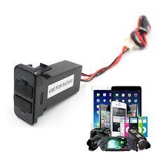 Cargador Apto SUZUKI Coche 12V 2.1A 2 USB Babor Toma De Corriente GPS