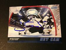 Brian Elliott Blues 2012-13 Panini Score Hockey Signed Auto Card