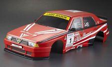1:10  Lexan Body / Karosserie  Alfa Romeo 75 Turbo Evoluzione  FERTIG LACKIERT