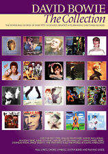 David Bowie The Collection Learn to Play Pop Rock Guitar Lyrics Music Book Songs