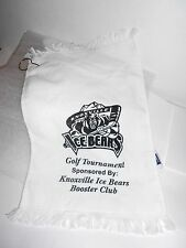 ORIGINAL  2003-2004 Knoxville Icebears Hockey Golf Towel (1 of only 100 Made )