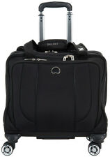 Delsey Helium Cruise Spinner Trolley Tote Carry On Luggage - Black