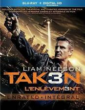 Taken 3 (Blu-ray Disc, 2015) Tak3n with Slipcover Liam Neeson