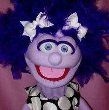 Professional Pro Muppet Type Ventriloquist Puppet Figure Dummy Sweet Little Girl