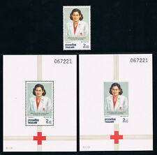 THAILAND 1991 Red Cross with S/S CV $ 12.50
