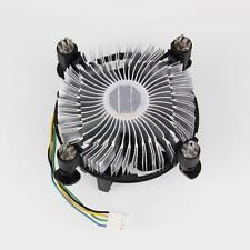 New for Intel Core2 LGA Socket LGA775 CPU w/heatsink fan Black
