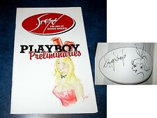 signed sketch THE ART OF DOUG SNEYD sketchbook PLAYBOY PRELIMINARIES 2010 RARE!