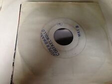 "MAX B - SUPER BWANA 7"" SINGLE SPAIN TEST PRESSING WHITE LABEL - FUNK DISCO"