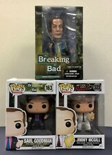 Funko Pop ! Breaking Bad Better Call Saul Goodman/Jimmy McGill Set of 3