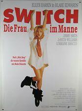 SWITCH - Die Frau im Manne ELLEN BARKIN - Filmplakat DIN A1 (gerollt)
