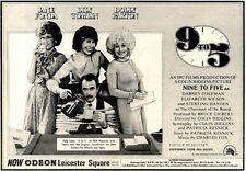 7/2/81PGN23 ADVERT: JANE FONDA & DOLLY PARTON STAR IN NINE TO FIVE 7X11