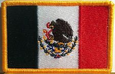 MEXICO Flag Patch With VELCRO® Brand Fastener Military Emblem #904