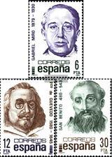 Espagnol timbres-espagnole de 1981 célébrités en neuf sans charnière condition