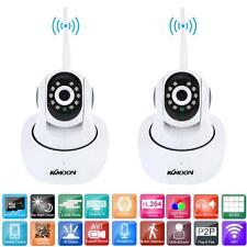 2x 1080P HD H.264 2MP Camera PnP Pan Tilt IR Cut Wireless Network IP Webcam R5K1