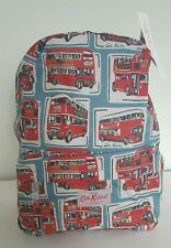 Brand New CATH KIDSTON Backpack in Coated Cotton London Buses