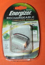 ENERGIZER RECHARGEABLE CORDLESS PHONE CP50NM BATTERY 3.6V - 750mAh - NEW
