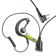 G-TYPE EARPIECE FOR 2 PIN MOTOROLA RADIO GP300 GP350 CP040 XTN-ID XTN446 DTR550