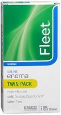 Fleet Saline Enema Twin Pack 9 oz
