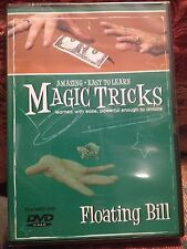 Amazing Easy to Learn Magic Tricks:  Floating Bill - Includes Invisible Thread!
