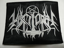 HIRILORN BLACK METAL PATCH EMBROIDERED
