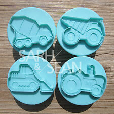 SLH187 Building transportation Fondant Biscuits Cutters