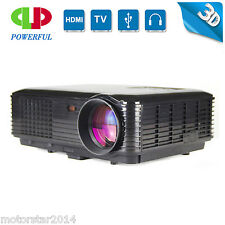 3500lumens Full 1080p HD Smart 3D Projector Home Theatre Business Projector HDMI