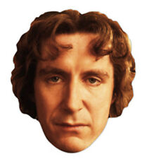 Paul McGann The Eighth (8th) Doctor Who Single Card Face Mask - Party Fun