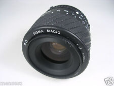 SIGMA MACRO OBIETTIVO LENS 50/2.8 Nikon AIS Manual Focus Macro come nuovo like new
