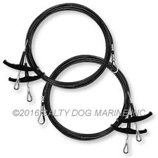HOBIE CAT 18 TRAPEZE WIRES BLACK (4) - NEW ( #283222 )