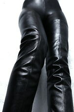 UNIQUE STRETCH MADE IN ITALY SEXY HIGH TOP HEEL G67 OVERKNEE STIEFEL BOOTS LEDER