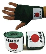Senshi Japan's Boxing Hand Wraps Bandages Inner Bag gloves Boxing MMA Muay Thai