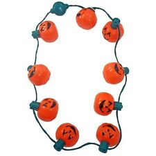 Disney Parks Light-Up Pumpkins Halloween Lanyard Glow
