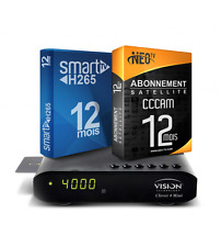 VISION Clever 4 Mini + Smart IPTV Subscription [H265] & Satellite & VOD 12 Month