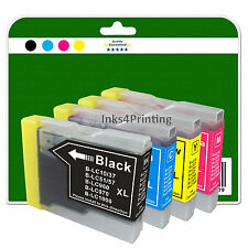 4 Ink Cartridges for Brother DCP-130C 135C 150C 330C 350C non-OEM LC970