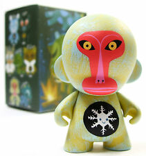 "Kidrobot x Amanda Visell FERALS Mini Series SNOW EATING MACAQUE 3"" Vinyl Figure"