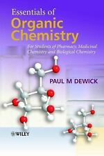Essentials of Organic Chemistry: For Students of Pharmacy, Medicinal Chemistry a