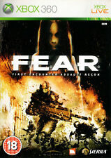 Fear: First Encounter Assault Recon ~ XBox 360 (in Good Condition)