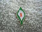 New Large Easter Lily Badge (1 Inch Size) Irish Freedom Tri/Color Ireland AOH