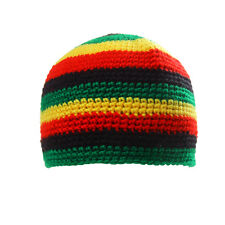 Fashion Reggae Jamaica Rasta Beanie Hat Dome Cap DreadLock Tam Birthday Gift