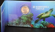 2014 HAWKSBILL TURTLE PROOF SILVER COIN NEW ZEALAND  NIUE