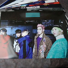 K-POP BIGBANG GD TOP 12cut Posters Collection Bromide + BIGBANG A3 Photo Sticker