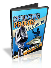 Complete Plan For Maximizing Your Business and Reputation Through Speaking on CD