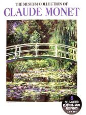 "Calude Monet 8 Self-Matted Ready to Fram Art Prints 12"" x 16"" NEW"
