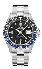 DELMA Santiago GMT Meridian SWISS MADE