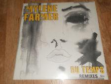 mylene farmer - du temps (maxi vinyle neuf scellé)