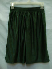 NWOT Men's M.J. Soffe Nylon Sport Shorts Size Small Dark Green #322M