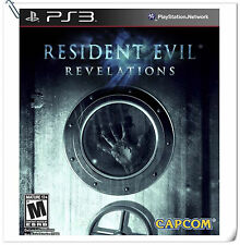 PS3 Resident Evil: Revelations SONY Playstation Capcom Action Games