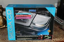 Sega CD System Model 2 in box - includes Sega Genesis & Sewer Shark game